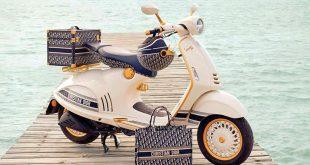 Този скутер Vespa на Dior ще ви накара да подскочите от радост