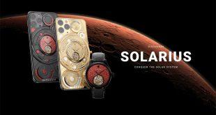 Феноменален iPhone 12 Pro Discovery Solarius от CAVIAR