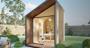 Преносими стаи, които може да ползвате за офис в двора си